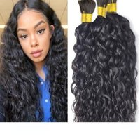 Wholesale 28 inch braiding hair for sale - Group buy L Mongolian Bulk Hair Natural Wave Bulk For Braiding Human Hair Extensions Unprocessed Hair Inch In Stock