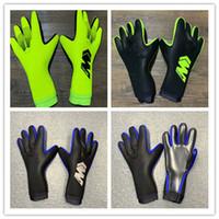 teller m großhandel-Geschirr spülen Luhuang 2018 Männer Fußball GoalKeeper Handschuhe Finger Latex Volleyball Sporthandschuhe