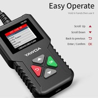 Wholesale obdii tools resale online - OBDII Engine Code Reader Scanner Car Diagnostic tool OBDII EOBD Auto Read Clear DTC CR3001 YA101 USB free Update