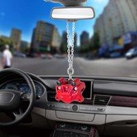 otomobiller için fren balataları toptan satış-Otomobil İç Dikiz Aynası Dekorasyon Dangle Trim Aksesuar Oto Aksesuar Asma Araç kolye Fren Pompa Pedler Süsler