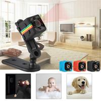 Wholesale black video recorder mp3 for sale - Group buy Mini DV SQ11 Mini Camera HD P Night Vision Camcorder Car DVR Infrared Video Recorder Black