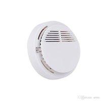 ingrosso rilevatore di fumo video-Rilevatore di fumo caldo Allarmi Sensore di sistema Allarme antincendio Rilevatori senza fili Sicurezza domestica Alta sensibilità LED stabile 85DB 9V Batteria