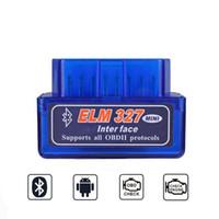 bmw teşhis adaptörü toptan satış-OBD2 ELM327 V1.5 Tarayıcı PIC18F25K80 Bluetooth Adaptörü V 1.5 ELM 327 Mini Tarayıcı Teşhis Aracı OBD 2 Otomatik Tarayıcı
