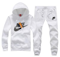 модные мужские костюмы оптовых-Модная стильная спортивная одежда для мужчин с капюшоном поло Спортивные костюмы для бега Jogger Suits