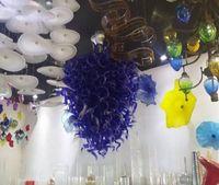 Wholesale nautical lights resale online - Big nautical flush mount chandelier lighting Hand Blown Murano Turkish Glass Lamps Big Classic Alabaster Chandelier Light
