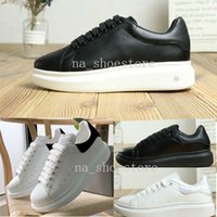 qualität marke sneakers großhandel-2019 alexander mcqueens baskets Casual Shoes Height Increasing Comfort Pretty Girl Women Sneakers Casual Leather Shoes Men Womens Sneakers Extremely