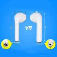 ingrosso bluetooth cuffie viola-Mini auricolare I7 mini 4.2 TWS headset wireless mini headset sportivo TWS con supporto di ricarica per Apple, Samsung, Android, ecc.
