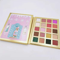 Wholesale eyshadow palette for sale - Group buy 2020 New Christmas color eye shadow makeup palette eyshadow DHL