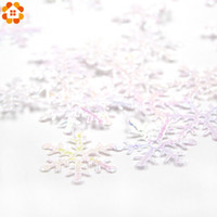 Wholesale 1 Pack DIY Xmas Classic Charming White Snowflake For Home Garden Kids Holiday Gifts Christmas Decoration Xmas Tree Ornament
