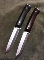 facas de sobrevivência feitas à mão lâmina fixa venda por atacado-[IRMÃO F003] Lâmina Fixa Faca Bushcraft Scandi Lâmina Sobrevivência Tático Caça Camping Handmade ferramenta de alta qualidade EDC
