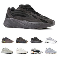 Wholesale fashion running shoes for women resale online - 700 V2 running shoes for men women VANTA Static SALT Multi Solid Grey Mauve INERTIA ANALOG mens trainers fashion sports sneakers