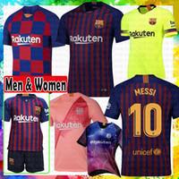 Wholesale football online - Barcelona soccer Jersey New Messi Iniesta Suárez Dembele Coutinho Football shirts Thai Quality Home