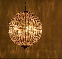 Wholesale crystal lightings for sale - Group buy American Style Chandelier Lights K9 Crystal Metal Lightings For Living Room Dining Room Artistic Art Deco LED Chandeliers LLFA