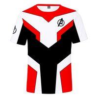 ingrosso costumi cosplay per uomini corti-The Endgame Advanced T-Shirt Uomo / Donna Thanos Iron Man Costume cosplay manica corta Tee