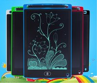 Wholesale notepad free resale online - FREE DHL inch Writing Tablet Drawing Board Blackboard Handwriting Pads Gift for Kids Paperless Notepad Tablets Memo With Upgraded Pens
