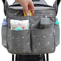 Wholesale child diapers for sale - Group buy Amazon Infant Pannier Bag Baby Stroller Bag Vovo Children Storage Accessories Pannier Diaper