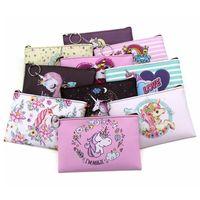 Wholesale coin for sale - Women Cartoon Unicorn Coin Purses Women Mini Wallets Girl Cute key Money Bags Female Kids Purse RRA410