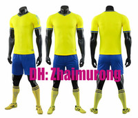 Wholesale kit name soccer resale online - 2019 Adult kit football jersey development designated any name and number please contact customer service