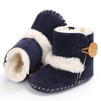 Wholesale best online fabrics resale online - 2020 best baby shoes cm cm cm black white pink brown dark blue for kids running shoes online sale