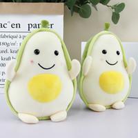 almohadas lindas para las niñas al por mayor-Frutas Juguetes de plantas de felpa Kawaii Cartoon Cute Stuffed Doll Cojín de aguacate Niños Niñas Anti Stress Cojín Almohada Para niños juguetes
