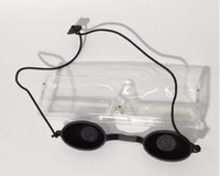 ingrosso borsa di sonno coreana-Occhialini per la protezione degli occhi IPL LASER macchina bellezza maschera occhiali salone fotodinamico uselight tight sleep mask opaco nero TM-EG001