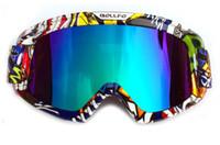 raça neve venda por atacado-Óculos de proteção da motocicleta, ATV Motocross Mx óculos de proteção da bicicleta da sujeira aperto para capacete de esqui snowboard Snow Goggles para off Road Racing ciclismo equitação