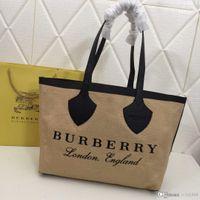 high-end damen handtaschen groihandel-Mode neue High-End-Luxus Dame Alphabet Handtasche, einfache Mode Designer Tasche, große Kapazität braun Anzahl: 8302