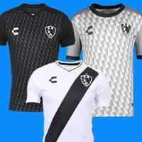 zombies hemd großhandel-2019 2020 Mexiko Netflix Club de Cuervos Trikots 18 19 20 Liga MX Mexiko Club de Ravens T-Shirt ZOMBIE Fußball Trikot E-Paket