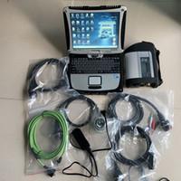 xentry mercedes benz al por mayor-sd connect para mercedes herramientas de diagnóstico con laptop cf-19 con hdd 320gb 2019.03 xentry epc das set completo listo para trabajar