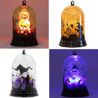 zuhause dekor haus parteien großhandel-Kürbis-Halloween-Lampe Hexe Home Decor-LED-Leuchten Laternen-Lampen-Partei liefert Halloween-Dekor Haunted House Decor