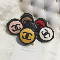 mini bolso de moda para niños al por mayor-Bolsos para niños Bolsos para niñas Bolsas cruzadas 2019 Moda Coreana para niños Bolsas de hombro para niñas Niños Mini Cadena Monederos redondos Bolsos para dulces