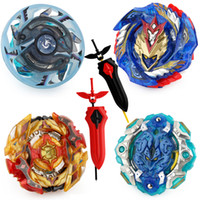 ingrosso corde beyblade-Mksafn Beyblade Burst Metal Booster Top Starter Gyro Spinning Battle Fight Toy con L-R String Launcher Sword Launcher senza scatola