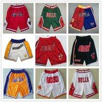 lässig trägt großhandel-Bewegung Wind Michigan Shorts Streifen Netw Basketballshorts tragen Leichte atmungsaktive Sport-beiläufige Hosen Wolverines Shorts