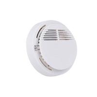 batería de 9v led al por mayor-2019 Detector de humo Sistema de alarmas Detector de incendios Detector inalámbrico Detectores de seguridad para el hogar Alta sensibilidad Estable LED 85DB 9V Batería