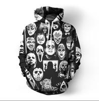 Wholesale mens 3d skull sweatshirt hoodie online – oversize Mens Designer Hoodie Autumn Winter Hoodies For Men Sweatshirts D Skulls Pattern Lovers Mens Kids Coats Hooded Ogreish Hoodie Tops Clothing