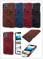 iphone mais couro genuíno venda por atacado-Qualidade luxo europeu estilo couro genuíno phone case para iphone 11 pro max x xs xr 7 8 plus capa para samsung note10 plus s10 s9 s8 note9