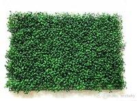 ingrosso piante per giardino balcone-40x60 cm erba verde piante tappeto erboso artificiale ornamento di plastica prati tappeto muro balcone recinzione per la decorazione domestica decoracion