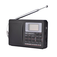 Wholesale mini sw receiver resale online - Mini FM Radio Portable Radio Receiver Support FM AM SW LW TV Sound Full Frequency Radio Receiver Support Alarm Clock for Elderly CS