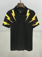 Wholesale mens golf polo shirt xl resale online - mens polo shirt tralp laure mens British style Polo homme USA BRAND golf shirt mens Lapel short sleeve tennis shirt HMPL3