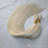 rigor de cabelo de xpression venda por atacado-100g / bundle 3 bundles / lote brasileiro puro loiro natural branco preto extensões de cabelo 100% cabelo humano a granel