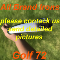 Wholesale rlx golf resale online - 2020 New golf irons All Brand Irons Set with Steel shaft KBS Graphite shaft Tour AD Graphite shaft golf clubs