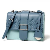 Wholesale computer hearts online - Women s New Women s Bag Single Shoulder Slung Color Bag Small Square Bag Al277