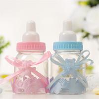 bebeğin şişesi toptan satış-Küçük Ambalaj Şişeleri için plastik Ambalaj Kutusu Yaratıcı şeker kutusu bebek duş bebeğin ilk ay Hediye kutusu T5I6013