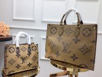 ingrosso piccoli grandi sacchi-Designer bag lady borsetta classic size due shopping bags fashion charm sensazioni artistiche di alta qualità Big 41 small 30