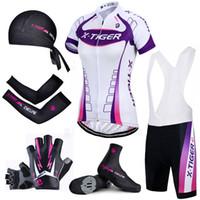 femme maillot de vélo achat en gros de-X-Pro Tiger Femmes d'été Cyclisme Entr sec Vélo de course Vêtements de vélo Vêtements de vélo Respirant Montagne Vélo Jersey