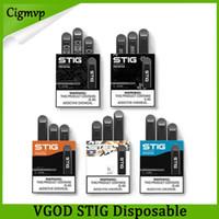 color vape al por mayor-100% original VGOD STIG desechables 5 colores vacío Dispositivo Pod Kit de 3 piezas paquete de batería 270mAh 1,2 ml Cartucho de Vape Pen