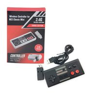 Wholesale new snes controller for sale - Group buy New G Wireless Gamepad Controller For NES For SNES Mini Classic Console Wireless Controller Free DHL