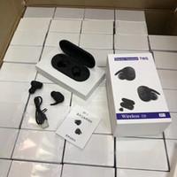 blackberry handys zum verkauf großhandel-2019 neue heißer verkauf tragbare DT-1 TWS Wireless Mini Bluetooth Kopfhörer Mobile Stereo Ohrhörer Sport Ohr Telefon Mit Mic Ladebox
