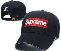 bonés de beisebol de designer preto venda por atacado-Boné de beisebol 100% Algodão designer de luxo bonés ícone bordado chapéus para homens 6 painel snapback preto chapéu dos homens visuais visuais gorras osso casquette