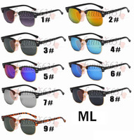 Wholesale cycling online - summer MEN metal frame fashion sun glasses cycling glasses women Outdoor Wind eye protector sunglasses cycling glasses COLOR